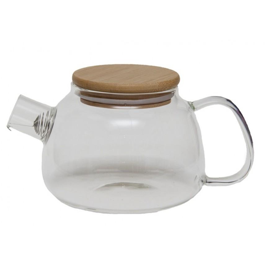 """Чайник стеклянный """"Стокгольм"""" 1000 мл"""