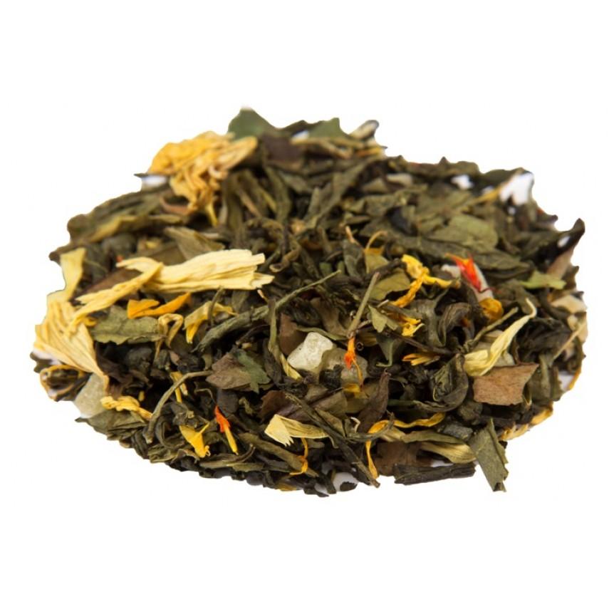"""Зеленый  чай """"8 сокровищ Шаолиня"""""""