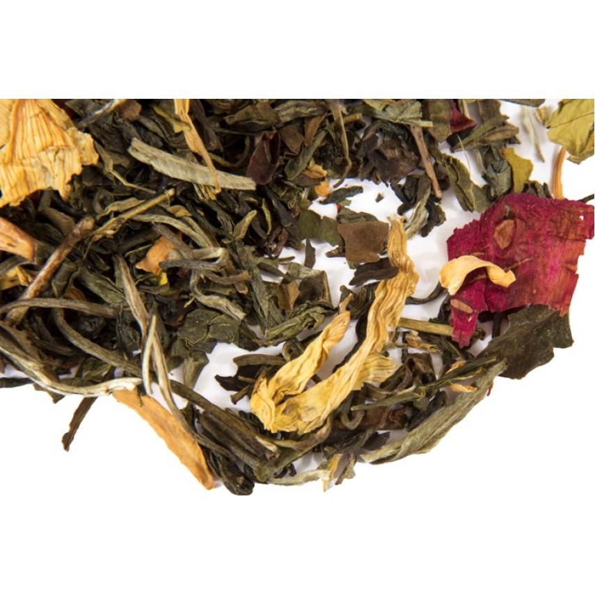"""Зеленый  чай """"Белая жемчужина Фудзиямы"""""""
