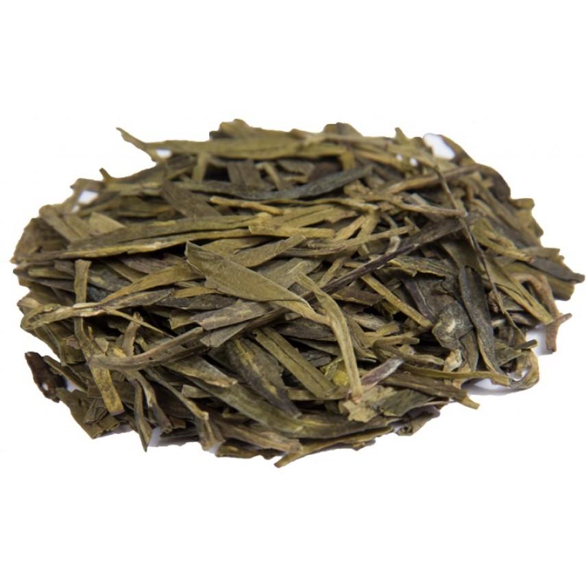 """Зеленый элитный чай """"Колодец Дракона"""" (Лунцзин)"""