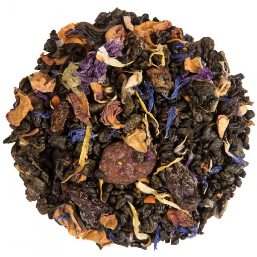 "Зеленый  чай ""Весенний Цветок"""