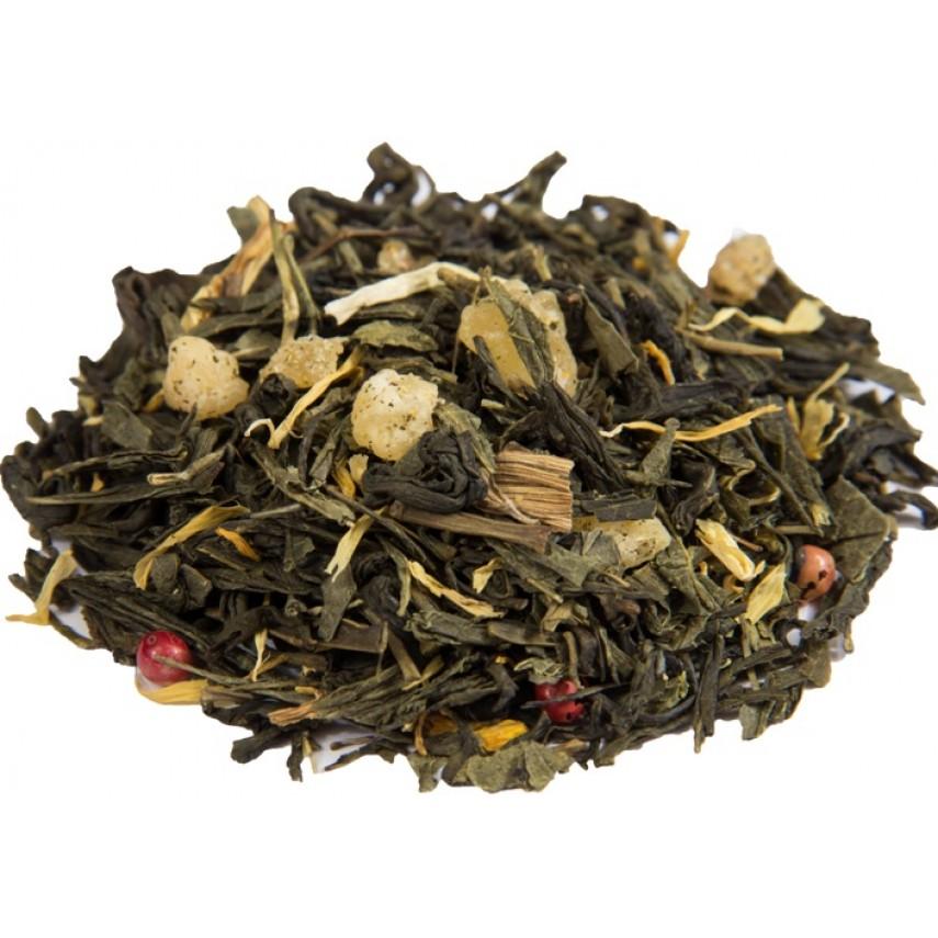 """Зеленый  чай """"Зеленый с имбирем"""""""