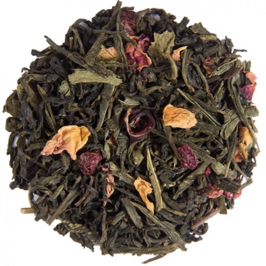 """Зеленый  чай """"Зеленый с клюквой"""""""